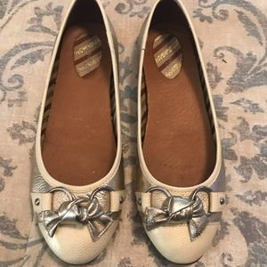 Sperry ballet flats, leather